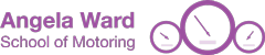 Angela Ward School of Motoring Logo