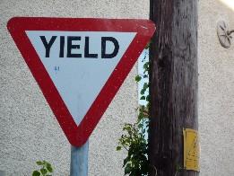 Yield junction ahead