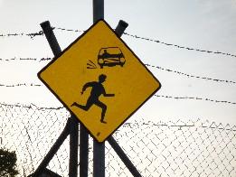 Caution Children crossing